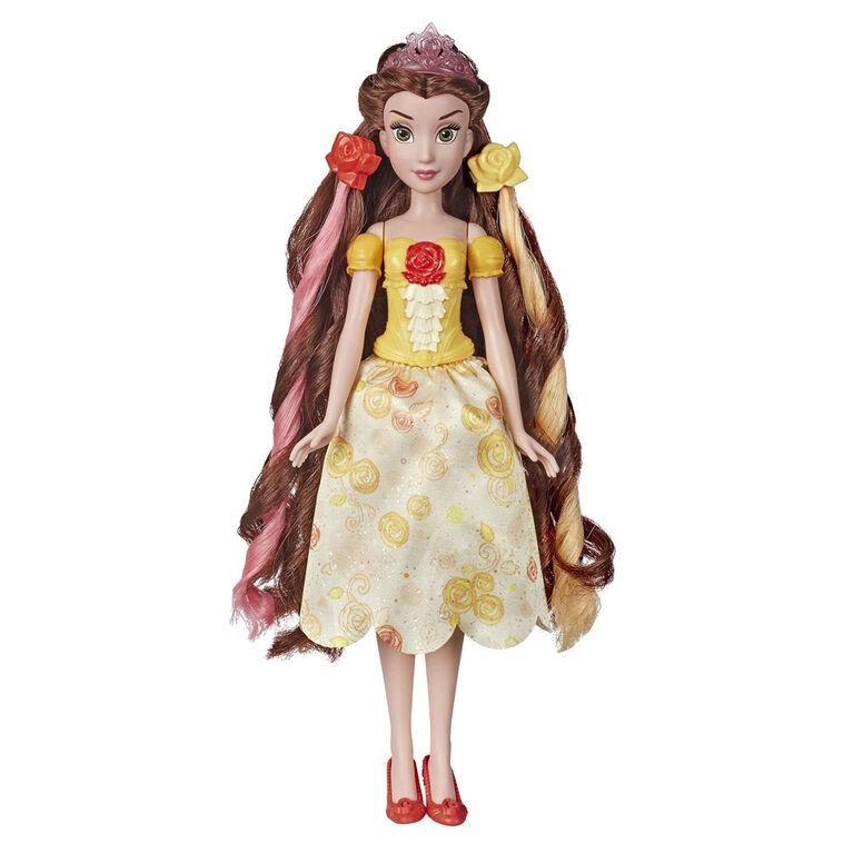 Disney Princess Hair Style Creations Belle Fashion Doll