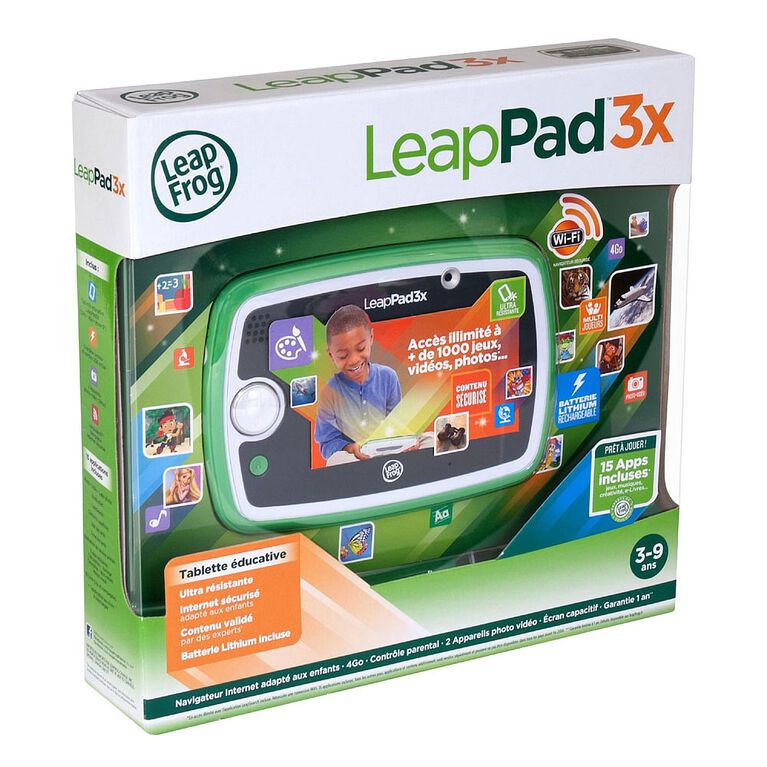 Leappad 3X - Green - French Edition
