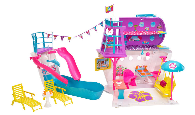Barbie Pink Passport Cruise Ship Play Set - R Exclusive