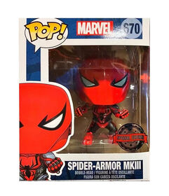 Funko POP! Moives: Marvel - Spider-Armor MKIII - R Exclusive