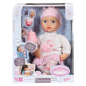 Poupée Mia Baby Annabell Fais de beaux rêves - Notre exclusivité
