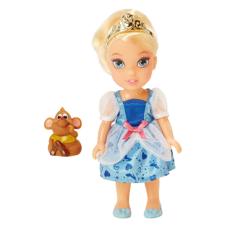 Disney Princess - Petite Princess & Pet 6 inch Doll - Cinderella