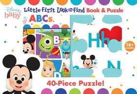 Mon Premier Petit Casse-Tête Cherche Et TrouveDe L'Alphabet De Disney Baby - Édition anglaise