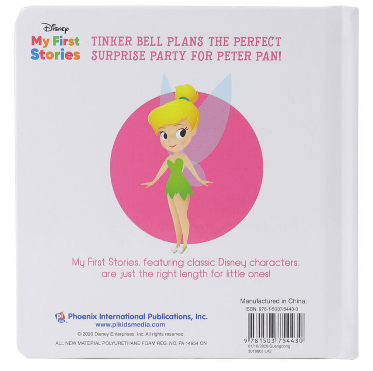 Disney My First Stories Tinker Bell'S Best Birthday Party - English Edition