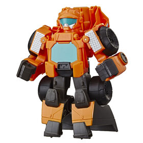 Transformers Rescue Bots Academy Wedge the Construction Bot Action Figure