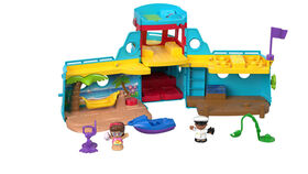 Fisher-Price - Little People Travel Together Friend Ship Playset