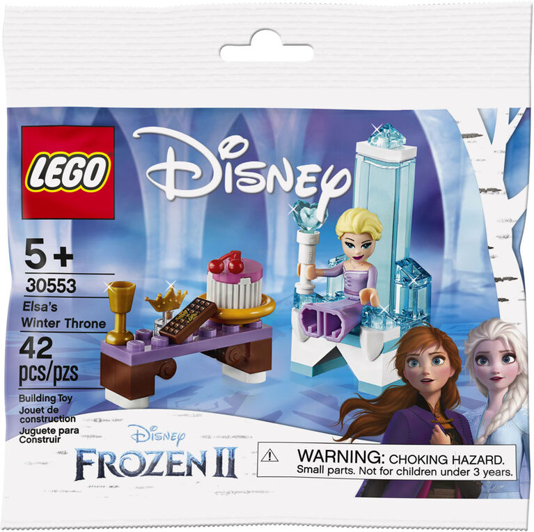 LEGO Disney Princess Elsa's Winter Throne 30553