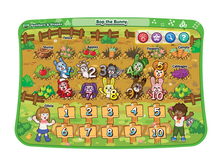 Touch & Learn Activity Desk Deluxe - Numbers & Shapes - English Edition