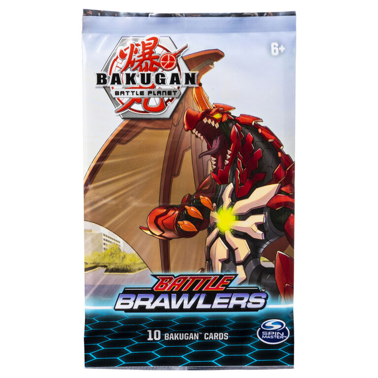 Bakugan, Battle Brawlers Booster Pack, Collectible Trading Cards