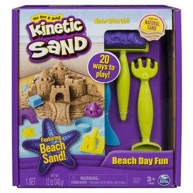 Kinetic Sand – Journée à la plage avec moules et outils
