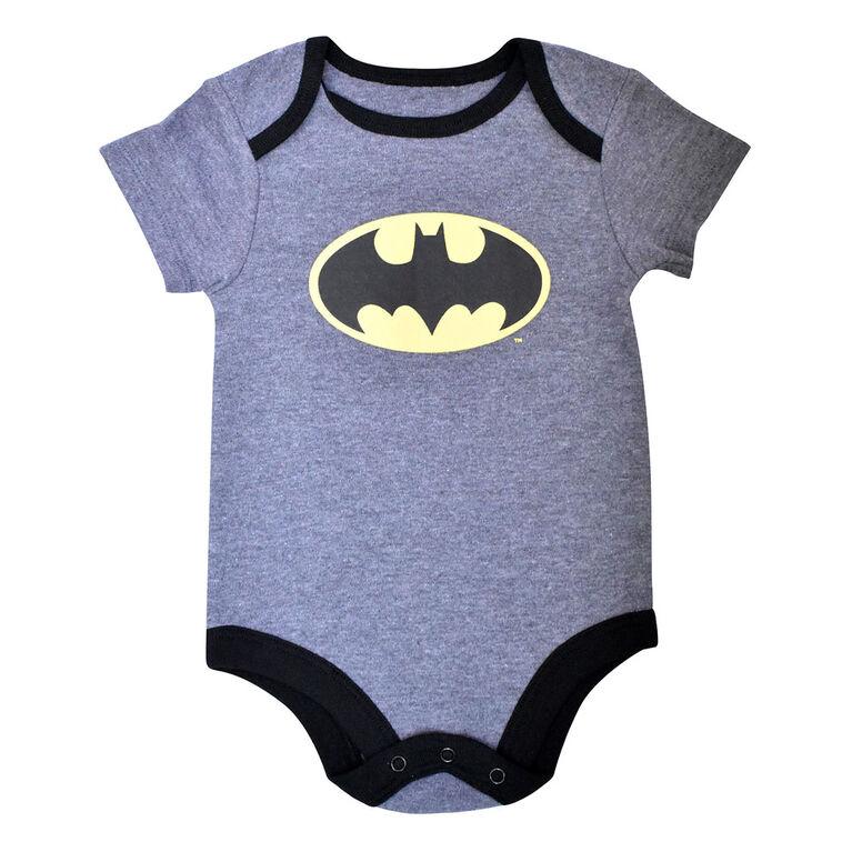 Warner's Batman Bodysuit - Grey, 6 Months