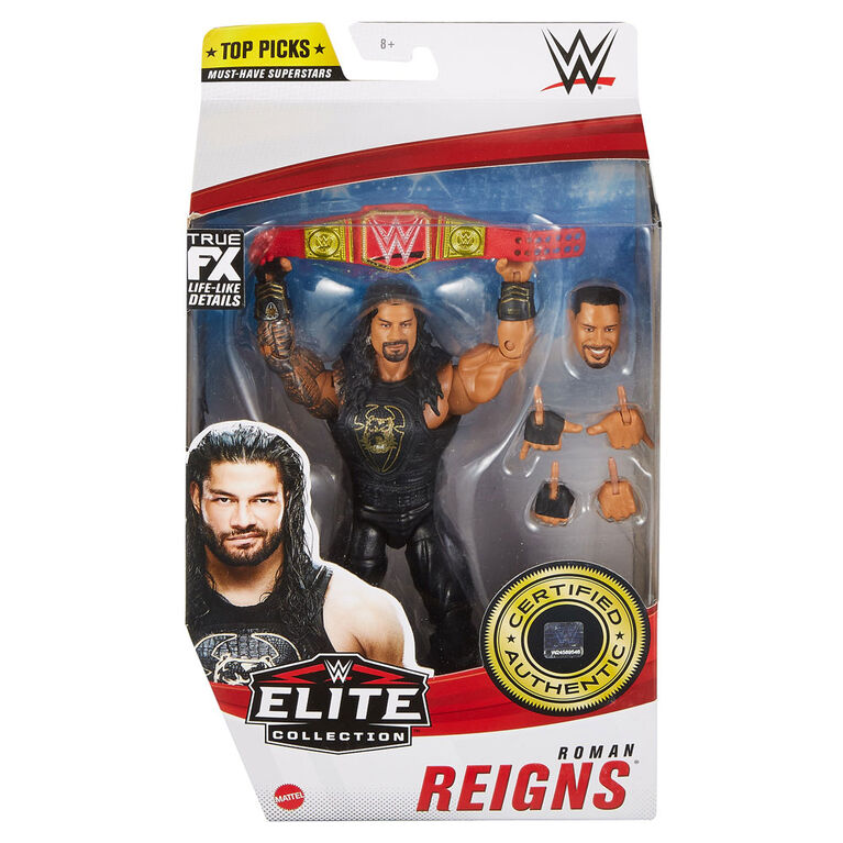 WWE Roman Reigns Elite Collection Top Picks Action Figure