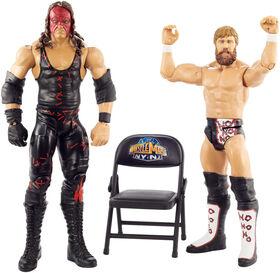 WWE - WrestleMania - Coffret de 2 Figurines - Daniel Bryan & Kane