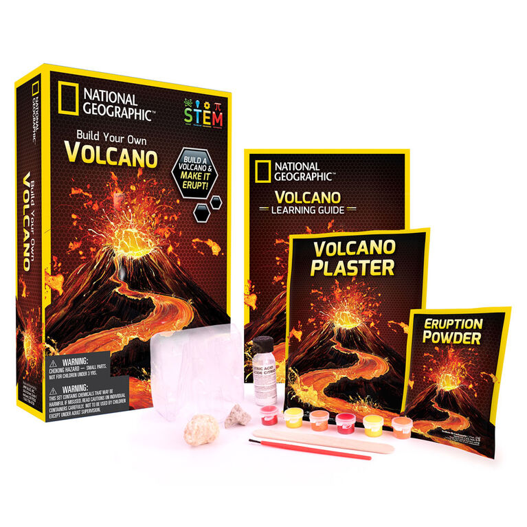 National Geographic Faire un Volcan