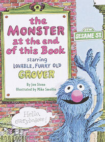 The Monster at the End of This Book (Sesame Street) - Édition anglaise