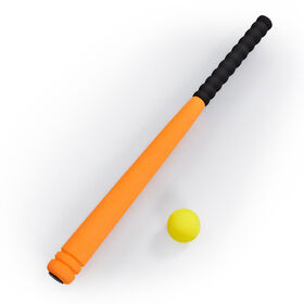 "Out and About 24"" Baseball Bat and Ball Set Orange"