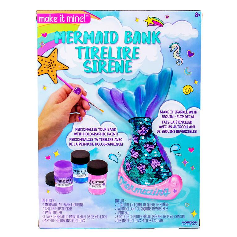 Make It Mine Mermaid Bank