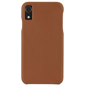 Étui Barely There cuir de Case-Mate pour iPhone Xr, butterscotch