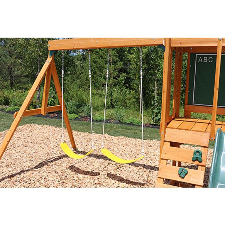 KidKraft Andorra Wooden Swing Set