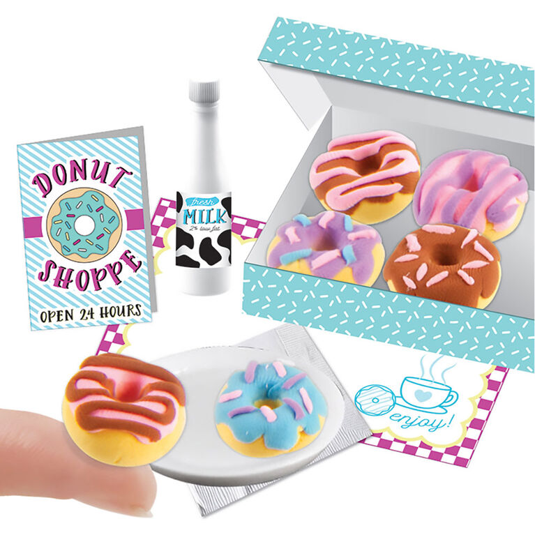 Fashion Angels - Kit Mini Argile 100% Petits Donuts Extra