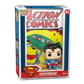 Funko POP! DC: Vinyl Comic Cover - Superman Action Comic