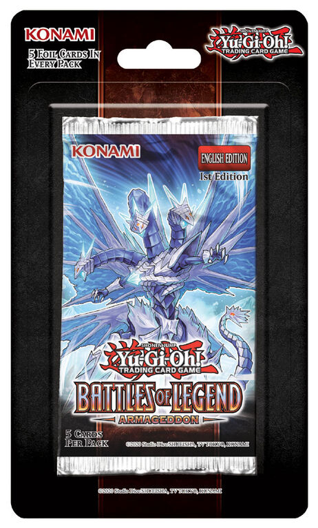 Yu-Gi-Oh! Battles of Legend Blister