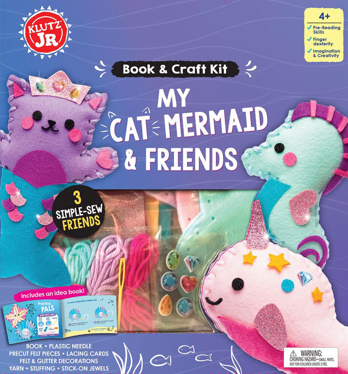 Klutz Jr. - My Cat Mermaid and Friends