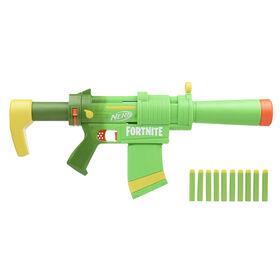 Nerf Fortnite, blaster SMG-Zesty, crosse et canon amovibles, chargeur 10 fléchettes amovible - Notre exclusivité
