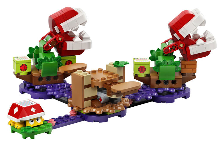LEGO Super Mario Ensemble d'extension Le défi de la Plant 71382