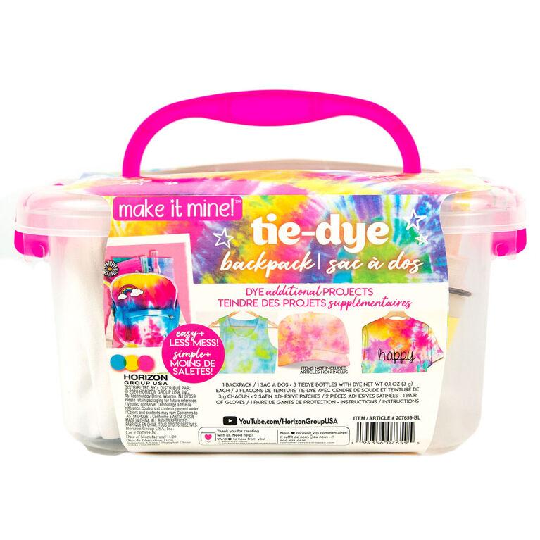 Make it Mine Bac pour sac à dos tie-dye - Notre exclusivité