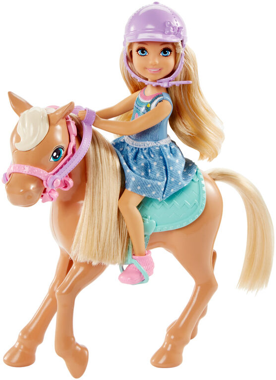 Barbie Club Chelsea Doll & Horse