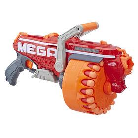 Foudroyeur jouet Nerf N-Strike Mega Megalodon avec 20 Méga fléchettes sifflantes Nerf officielles