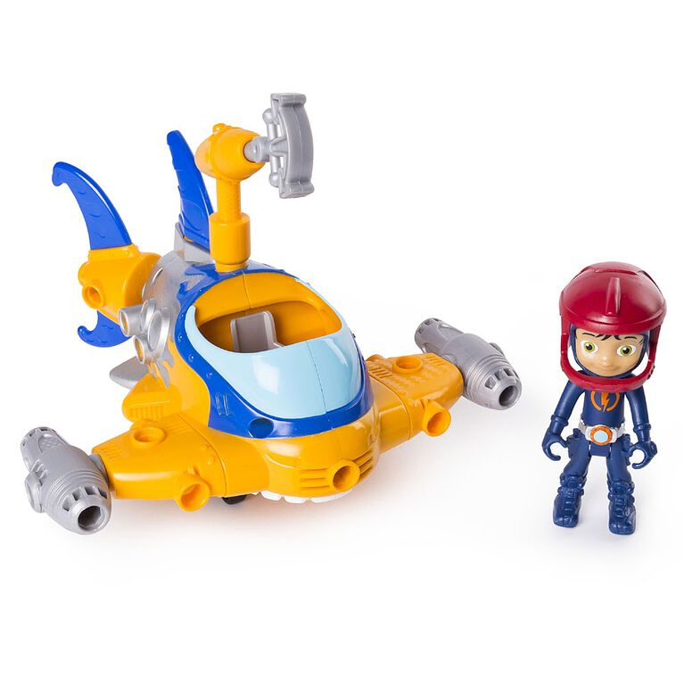 Rusty Rivets - Buildable Rivet Shark Vehicle with Rusty Figure, for Ages 3 and Up