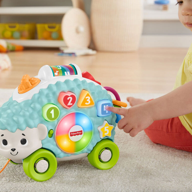 Fisher -Price Linkimals Happy Shapes Sorting Hedgehog - French Edition
