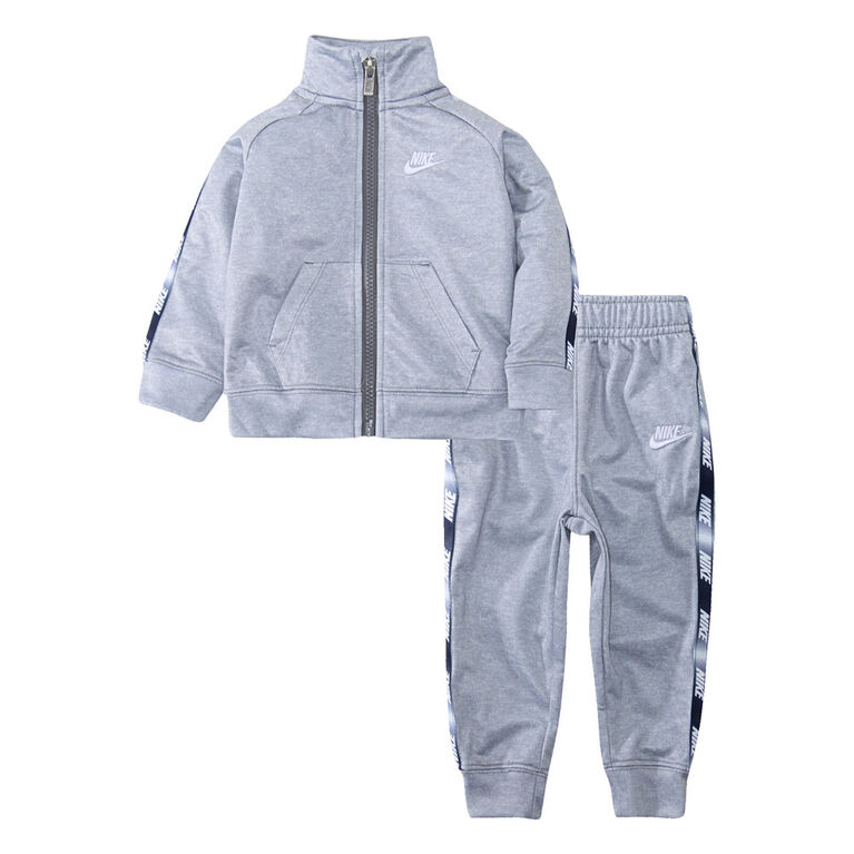 Nike 2pc Tricot Track Set - Grey, 12 Months