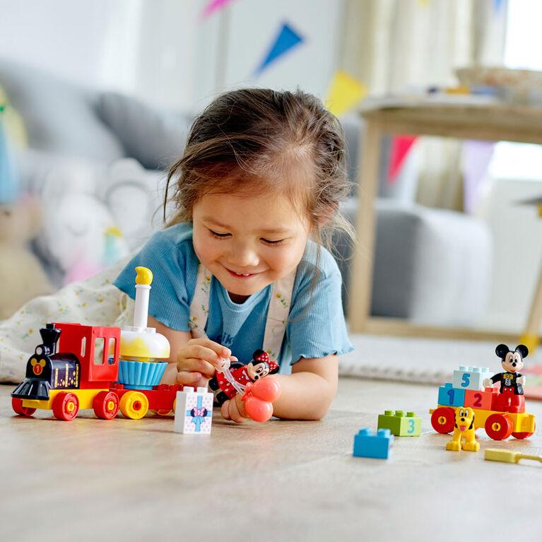LEGO DUPLO Disney Le train d'anniversaire de Mickey et Min 10941