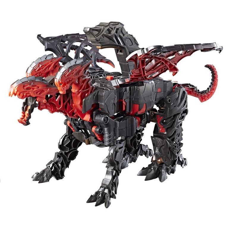 Transformers: The Last Knight Mega 1-Step Turbo Changer Dragonstorm