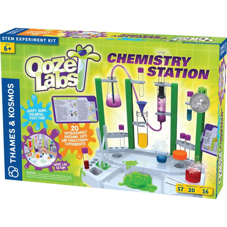 Thames & Kosmos Ooze : Station pour Laboratoires de Chimie (Kit d'Expérimentation Scientifique) - Édition anglaise