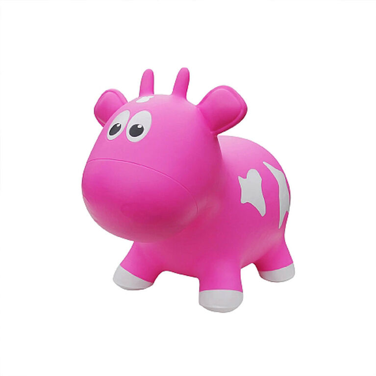 Farm Hoppers: Cow - Pink