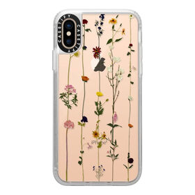 Casetify Grip Case iPhone XS Floral