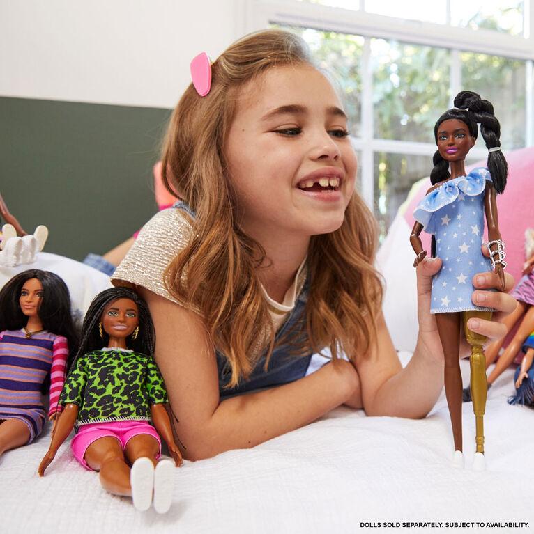 Barbie Fashionistas Doll #146 - Star-Print Dress