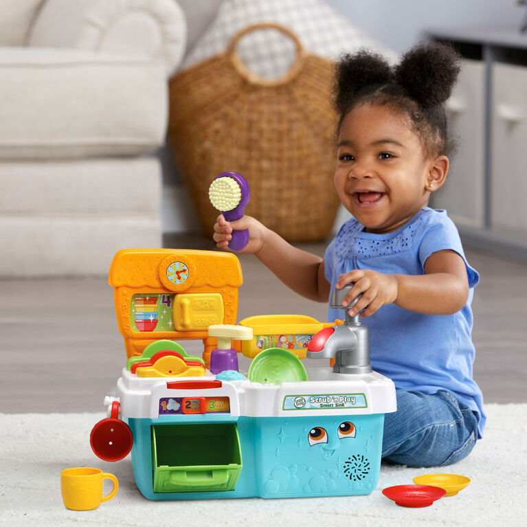 LeapFrog Scrub 'n Play Smart Sink - English Edition