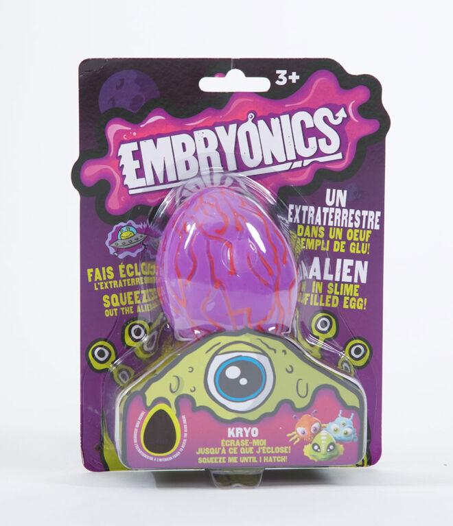 Embryonics - Oeuf Rempli de Glu - rose