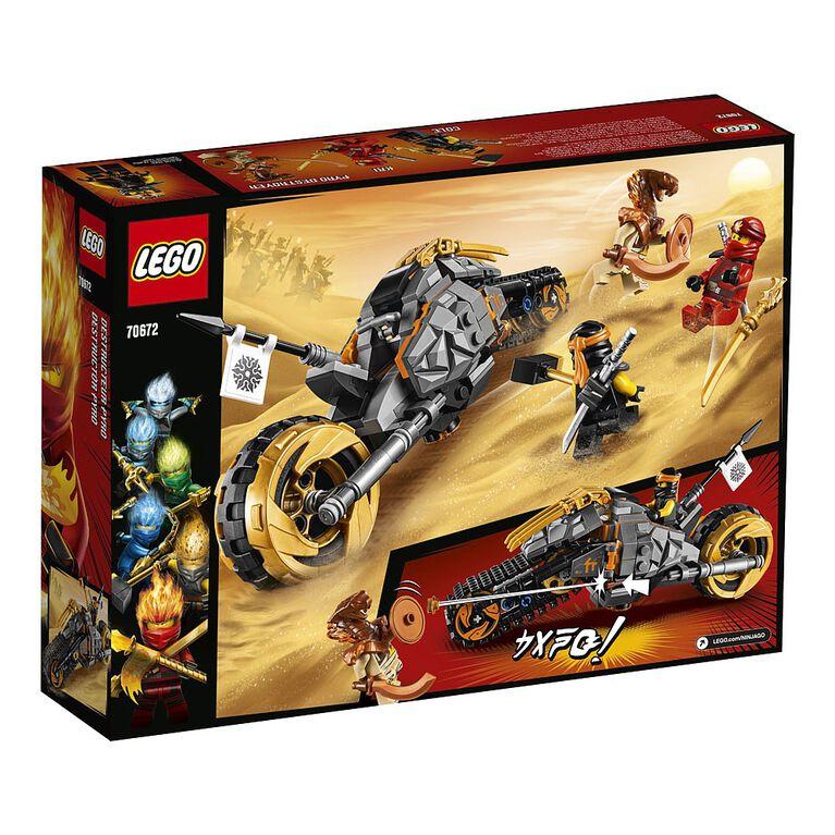 LEGO Ninjago Cole's Dirt Bike 70672