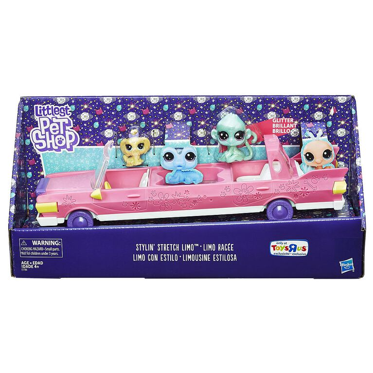 Littlest Pet Shop Stylin' Stretch Limo - R Exclusive