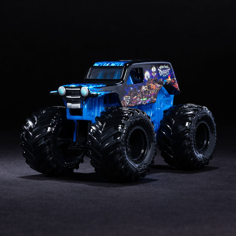 Monster Jam, Official Son-uva Digger Monter Truck, Legacy Trucks Series, 1:64 Scale
