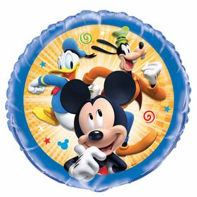 """Mickey Roadster Round Foil 18"""""""