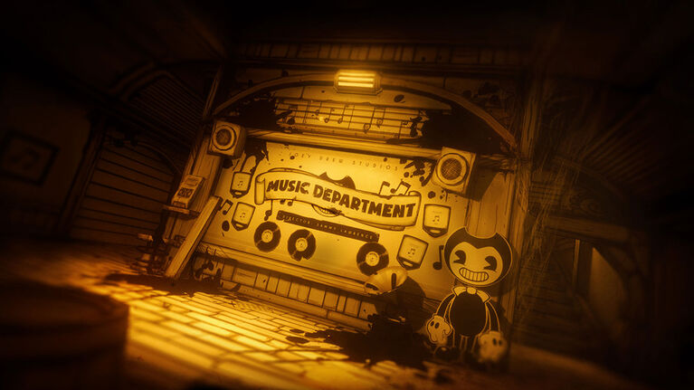 Nintendo Switch Bendy and The Ink Machine