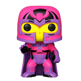 Figurine en Vinyle Magneto (Blacklight)  par Funko POP! Marvel: X-Men Classic - Notre exclusivité