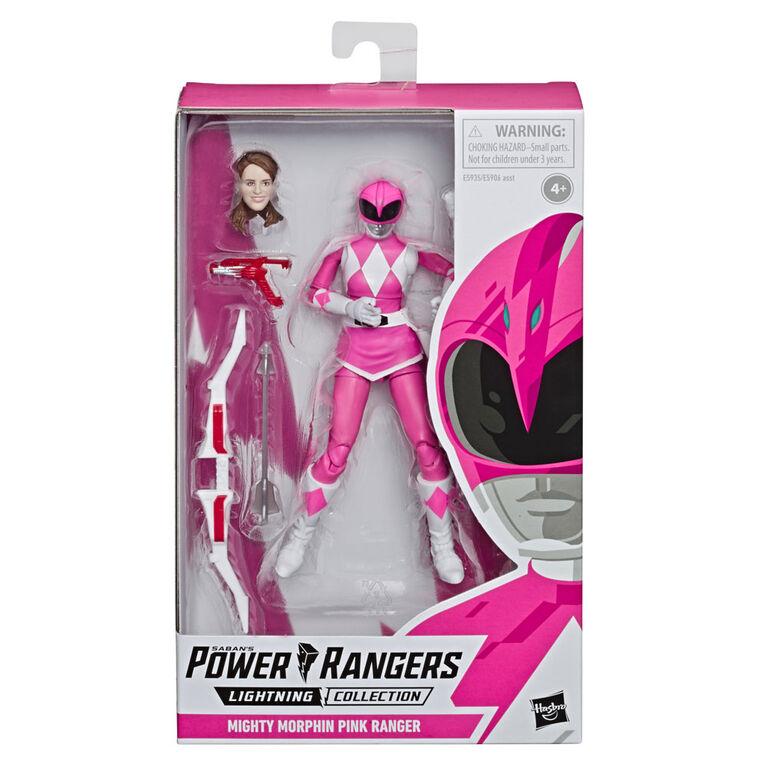 Power Rangers Mighty Morphin Pink Ranger Action Figure